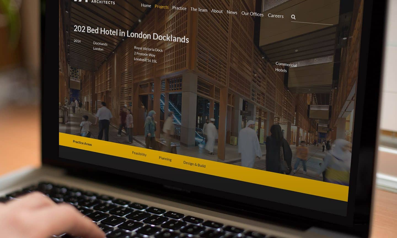 Axiom Brighton Architects Website Design
