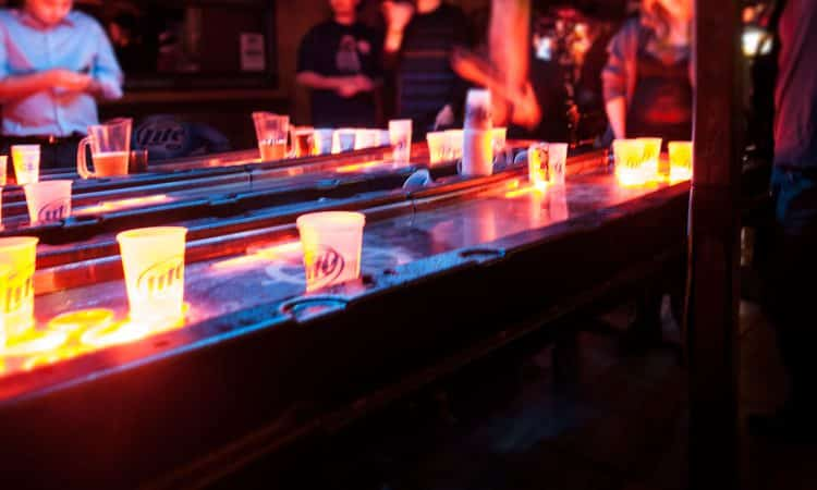 Beer Pong in New York