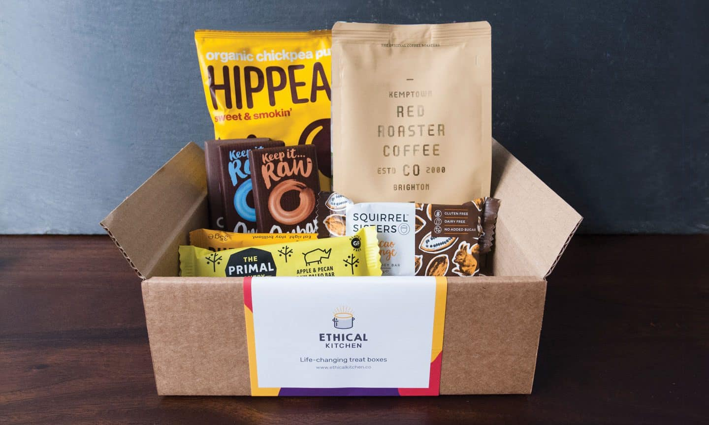Ethical Kitchen Subscription Snack Boxes