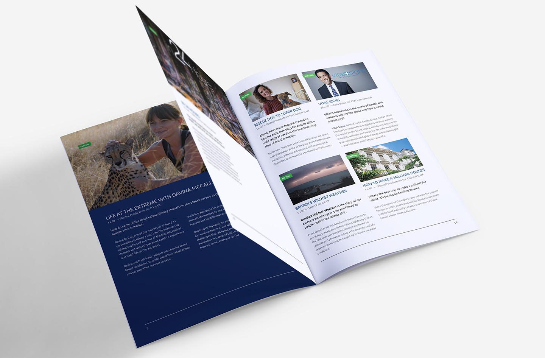 Freelance Print Brochure Designer Brighton