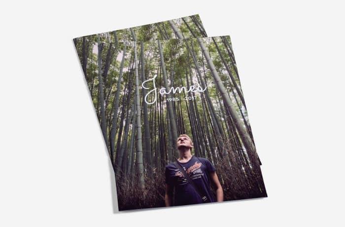 Memorial Booklet Cover