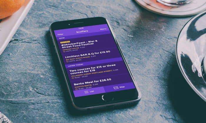 Scoffers iPhone App – Offers List