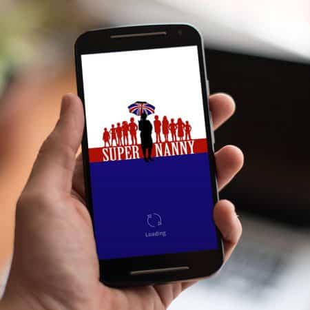 Supernanny iPhone App Design