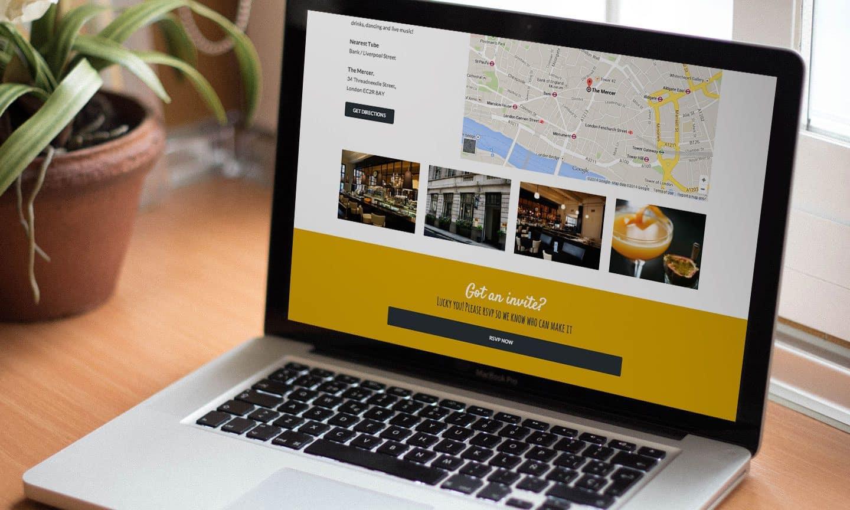 Wedding Website Design London