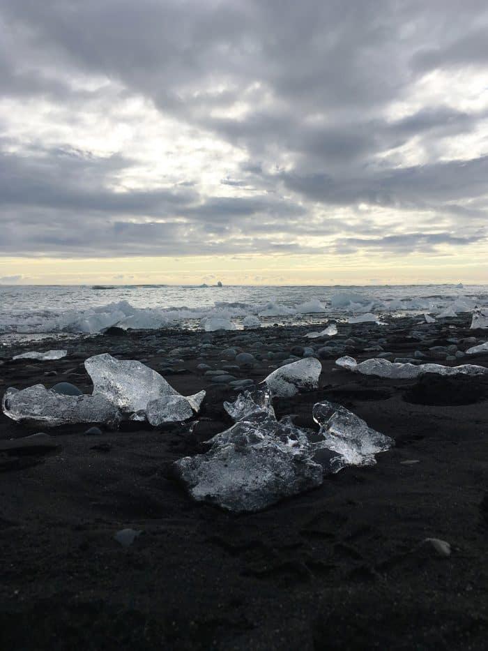 Diamond Beach, Jökulsárlón Iceberg Lagoon, Iceland