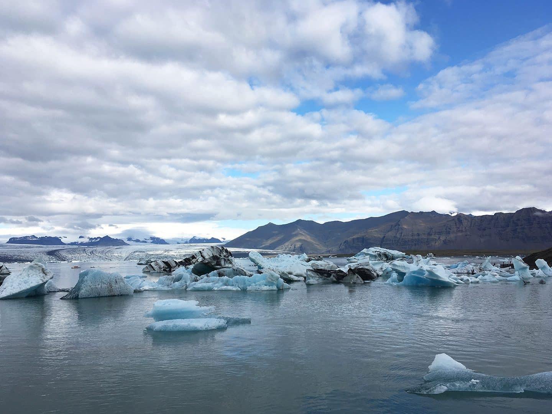 Jökulsárlón Iceberg Lagoon, South Iceland