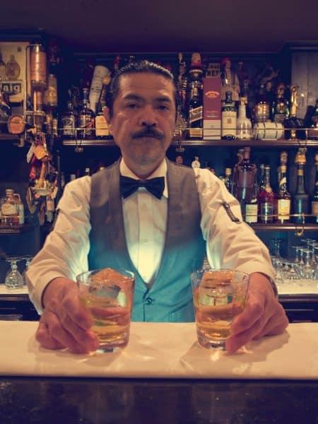 Whiskey bar, Osaka, Japan