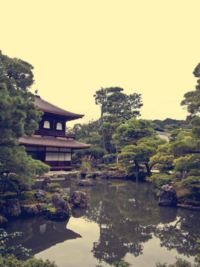 Kyoto temples, Japan